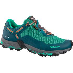 SALEWA Speed Beat GTX Scarpe Donna, shaded spruce/fluo coral